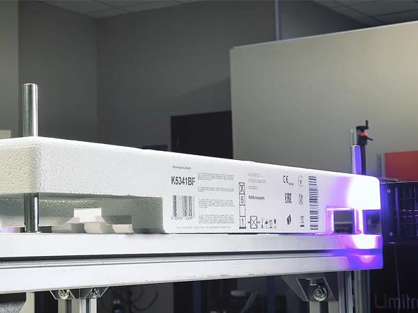 Impresión digital Limitronic envases de plástico